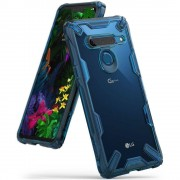 Carcasa Ringke Fusion X LG G8 ThinQ Space Blue