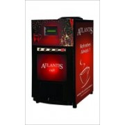 Atlantis Vending Machine with 3 Options Soup 6 Cups Coffee Maker(Red, Black)