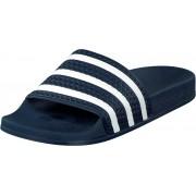 adidas Originals Adilette Adiblue/White/Adiblue, Skor, Sandaler och Tofflor, Flip Flops, Blå, Unisex, 48