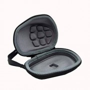 Leruya Portable Size Computer Wireless Mouse Case For Logitech Inalambrico MX Master/Master 2S EVA Carrying Pouch Cover Bag