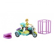 SCOOBY DOO Motocicleta cu atas & figurina Shaggy