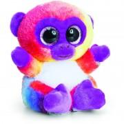 Maimutica de plus Animotsu Rainbow Monkey Keel Toys, 15 cm