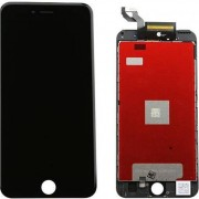 Compatibile Apple A - 821-00069 - Vetro LCD per iPhone 6s Plus - Nero (Grado A)