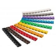 MARCADORES CABLES 2.5mm NUMEROS 0 a 9 (100 unidades)