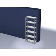 Discountoffice Systeemstelling Grondveld HxBxD 2500x1060x435mm Vakl. 225kg
