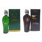 Combo Patel Hemil London Black Perfumes ( 120 ml )