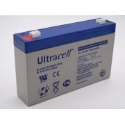 Ultracell acumulator 6V - 7Ah / 20hr UL 7 - 6 AGM VRLA UPS