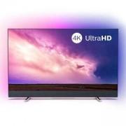 Телевизор Philips 55 инча 4K UHD LED Android TV с 3-странен Ambilight, 2100 Picture Performance Index, P5 Perfect Picture, 55PUS8804/12