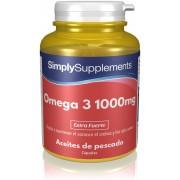 Simply Supplements Omega 3 1000mg - 120 Cápsulas