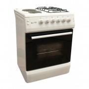 Комбинирана готварска печка Elite FSGE-0276, 4 нагревателни зони, термостат