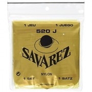 Savarez 520J Traditional Classical Guitar Strings Very High Tension Yellow Card