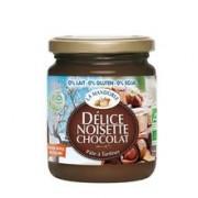 Crema de Ciocolata si Alune Bio fara Gluten Lactoza Soia La Mandorle 300gr