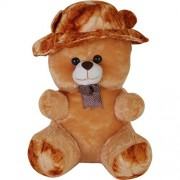 Dino impex Smart Brown 60 cm 2 Feet Teddy Bear with Cap Brown Teddy Bears Huggable and Dino impex Loveable for Someone Special