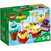 Конструктор Лего Дупло - Моето първо празненство - LEGO DUPLO Creative Play, 10862