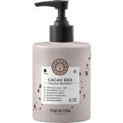 Maria Nila Colour Refresh Cacao Red 6.35 hajpakolás színes pigmentekkel
