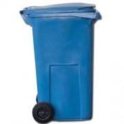 Popelnice 120 L modrá plastová za SUPER CENU