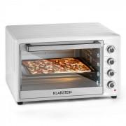 KLARSTEIN Masterchef XL, alb, cuptor electric, 100 L, 2700 W, oțel inoxidabil Alb