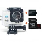 Quazar fehér Blackbox ultra HD minőségű sportkamera + 64GB-os Kingston memóriakártya, adapterrel