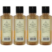 Khadi Pure Herbal Honey Vanilla Shampoo - 210ml (Set of 4)