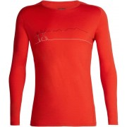 Icebreaker 200 Oasis Deluxe Single Line Ski - Sous-vêtement Homme - rouge XL 2018 T-shirts manches longues