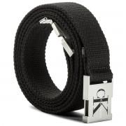 Дамски колан CALVIN KLEIN JEANS - J Canvas Clip Belt 3.0 K60K604146 100 001