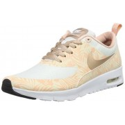 Nike Unisex-kinderen Air Max THEA Print (GS) Low-Top, wit, maat: 36,5