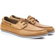 ALDO FETSCH Boat Shoes For Men(Tan)
