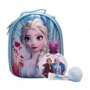 Disney Frozen II zestaw Edt 100 ml + Błyszczyk do ust 6 ml + Plecka Elsa dla dzieci