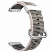 Curea material textil compatibila Samsung Galaxy Watch Active 2 telescoape Quick Release Gri