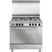 GLEM U85GIF3 LINEA UNICA cucina inox 80X50, forno multifunzione gas ventilato, classe A