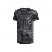 Adidas Own The Run ED9282 runing toute l'année hommes t-shirt noir/gris XL