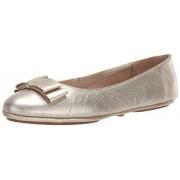 Aerosoles Conversation Zapatillas de Ballet para Mujer, Cuero Dorado, 10