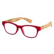 Ofar Leesbril Ofar LE0166C hout rood +1.00