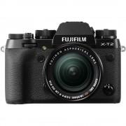 Fujifilm X-T2 Aparat Foto Mirrorless 24MP APSC 4K Kit cu Obiectiv 18-55 F/2.8-4 R LM OIS Negru - Fujifilm X-T2 Aparat Foto Mirrorless 24MP APSC 4k Kit cu Obiectiv 18-55 F/2.8-4 R LM OIS Negru