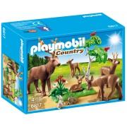 PLAYMOBIL - FAMILIE DE CAPRIOARE - FORESTER'S HOUSE (PM6817)