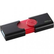 Kingston USB 3.0 Flash Drive DataTraveler 106 32 GB Black, Red