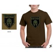 "Sniper Men ""Badge"" T-Shirt (Putty)"