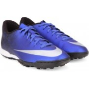 Nike MERCURIAL VORTEX II CR TF Football Shoes(Blue)