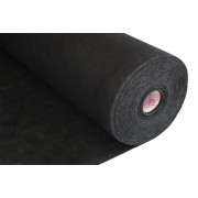 Podkladový vlizelín vláknina 35gr/m - černá, 90cm x 100m