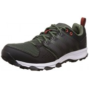 adidas Men's Galaxy Trail M Basgrn, Ironmt and Cblack Trail Running Shoes - 9 UK/India (43.3 EU)
