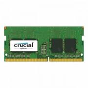 Crucial DRAM 4GB DDR4 2400 MT/s (PC4-19200) CL17 SR x8 Unbuffered SODIMM 260pin, EAN: 649528774798 CT4G4SFS824A