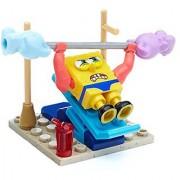 Megabloks Spongebob Squarepants Spongebobs Wacky Gym Building Playset