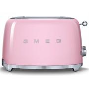SMEG - 2 Schlitz-Toaster Pink Serie 50 Jahre