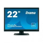 "iiyama ProLite B2280WSD monitor, 22"", fekete"