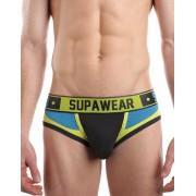 Supawear Bionic Brief Underwear Cyber Cerulean U22BICC