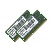 Patriot Signature Apple - DDR3 - 8 Go : 2 x 4 Go - SO DIMM 204 broches - 1333 MHz / PC3-10600 - CL9 - 1.5 V - mémoire sans tampon - non ECC - pour Apple iMac; MacBook; MacBook Pro