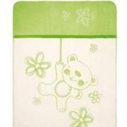 Бебешко одеяло Teddy, зелено, 0201, BabyMatex, 5902675041713