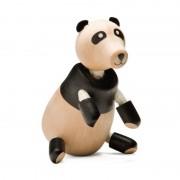 Urs Panda Anamalz, lemn, picioare mobile