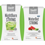 SlimJOY 2 slimming drinks that work throughout the night. 10-day programme.