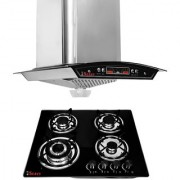 Seavy Altis Cone 1100 M3/H 60cm Chimney with 4 Burner Hob Combo Set